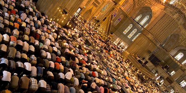 namazi ne xhamia
