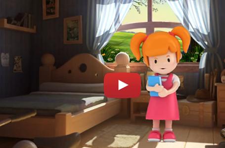 Film i animuar per femije.Aventurat e Ajnes.