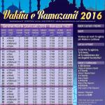 Kalendari i Ramazanit për Zvicrën